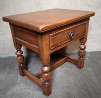 Light Oak Coffee / Side Table (2 of 8)