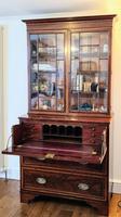 Regency Style Mahogany Secretaire Bookcase c.1840 (3 of 4)