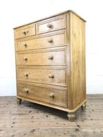 Large Vintage Pine Chest of Drawers (4 of 8)