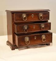 Miniature Mahogany Chest of Drawers (5 of 6)