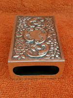 Antique Sterling Silver Heavy Hallmarked  Matchbox Case , 1890 Samuel Walton Smith (11 of 12)