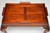 Mahogany Chippendale Style Tray Top Coffee Table (8 of 12)