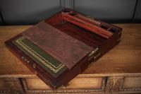 Victorian Military Style Writing Slope (3 of 12)