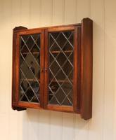 Oak Glazed Wall Cabinet (2 of 9)