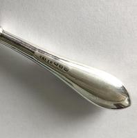 Silver Agate Handled Shoe Horn, Birmingham 1911 (4 of 4)