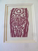 Mid Century Czech Wood Engraving by Vojtech Cinybulk (1915-1994) (2 of 3)