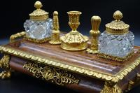 Quite Exceptional Mid 19th Century French Encrier or Ink Stand (5 of 5)