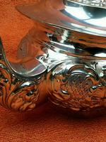 Antique Silver Plated Teapot JB Chatterley & Sons Ltd c.1920 (11 of 12)