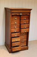 Solid Oak Lebus Tambour Front Filing Cabinet (8 of 10)
