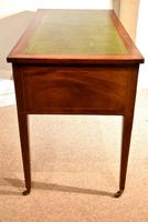 Regency Mahogany Writing Table Desk (7 of 8)