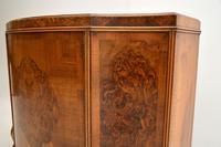 Antique Burr Walnut Cabinet / Sideboard (8 of 11)