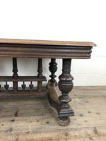 Early 20th Century Antique Oak Coffee Table (9 of 12)