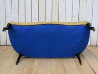 Antique French Button Back Sofa for Re-upholstery (4 of 8)