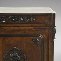 Pair of Spanish Rosewood Pier Cabinets (3 of 4)