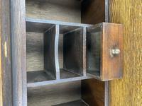 Mid 20th Century Art Deco Style Oak Bureau (5 of 15)