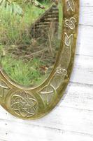 Arts & Crafts Movement Scottish / Glasgow School Large Oval Wall Mirror c.1900 (23 of 28)