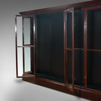 Huge Antique Shop Cabinet, English, Retail Display Showcase, Victorian c.1900 (8 of 10)
