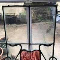 Antique Stained Glass Panel (10 of 12)