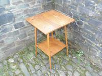 Arts & Crafts Golden Oak Table (4 of 12)