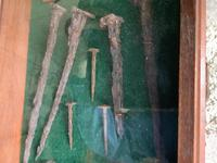 Rare Find in 1958 - Roman Nails C80ad Found in North of England