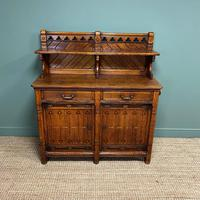 Victorian Holland & Sons Antique Oak Sideboard (5 of 9)