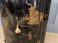 19th Century Chinoiserie Corner Cupboard (3 of 6)
