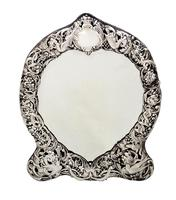 Antique Victorian Sterling Silver Dressing Table Mirror 1895 (10 of 10)