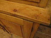 Antique Pine Kitchen Dressser with Glazed Top, Country Dresse. modestly sized (13 of 19)