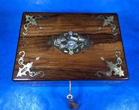 Victorian Jewellery Box with Mother of Pearl Inlay (13 of 13)