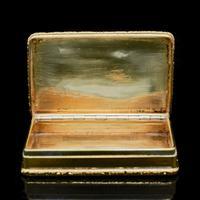 Georgian Solid Silver Gilt Snuff Box With Spectacular Fox Hunting Scene - Edward Smith 1832 (8 of 22)