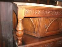 Gothic Style Carved Court Cupboard (2 of 3)