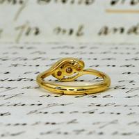 The Vintage Trio Star Illusion Set Diamond Ring (5 of 5)