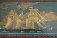 19th Century Maritime Oil on Board Topsail Schooner (3 of 10)