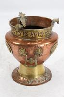 Pair of Chinese Brass & Copper Planters / Jardinières (5 of 13)
