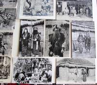 Large Collection of Ainu Hokkaido Japanese Postcards c.1900 (4 of 6)