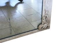 19th Century Large Quality Painted Chateau Overmantle / Wall Mirror (5 of 8)
