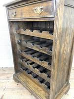 Early 20th Century Antique Oak Wine Rack (7 of 9)
