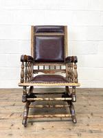 Antique Gentleman's Rocking Chair (3 of 9)