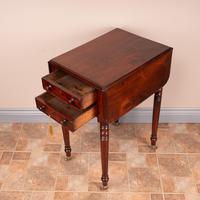 19th Century Mahogany Pembroke Work Table (9 of 13)