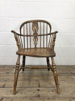 Pair of Antique Windsor Armchairs (8 of 9)