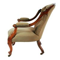 Victorian Rosewood Gent's Armchair (6 of 8)