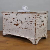 Victorian Painted Blanket Box Chest C1870 (12 of 12)