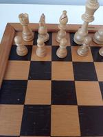 Vintage Carved Wooden Staunton Chess Set (6 of 6)