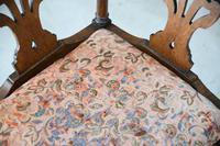 Antique Oak Corner Chair (4 of 12)