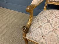 19th Century French Giltwood Settee (8 of 15)