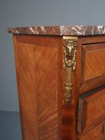Tall French Inlaid Kingwood Chest of Drawers (7 of 12)
