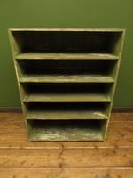 Green Rustic Painted Shelves Kitchen Storage, shabby chic Industrial Shelves (2 of 14)