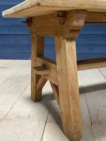Scandinavian Style Bleached Oak Farmhouse Table (7 of 14)