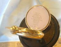 Swiss Vertex Pocket Watch 1926 15 Jewel 10ct Rose Gold Filled Case FWO (11 of 12)