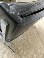 1960s Chrome & Leather Chair (6 of 12)